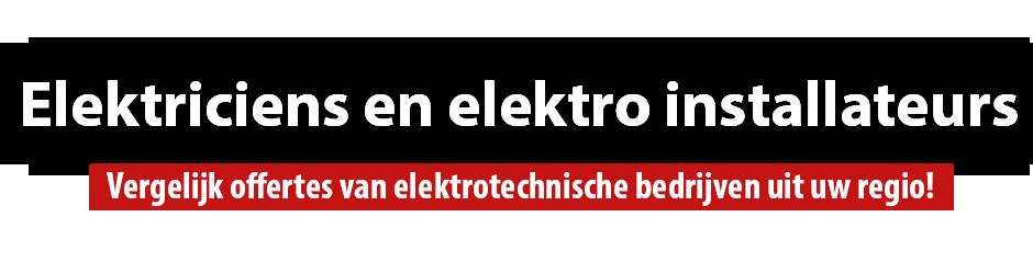 Elektrotechnisch installatiebedrijf