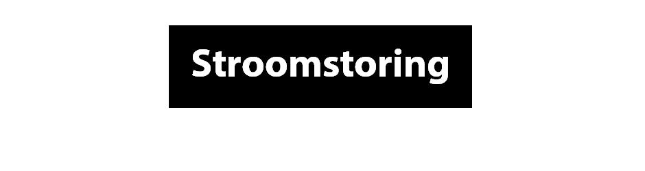 stroomstoring