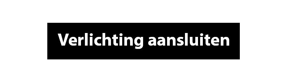 verlichting aansluiten